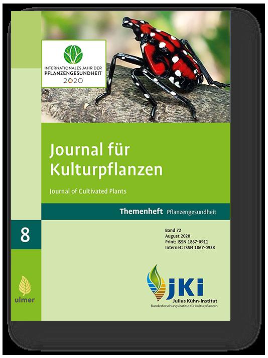 Titelbild Journal für Kulturpflanzen August 2020